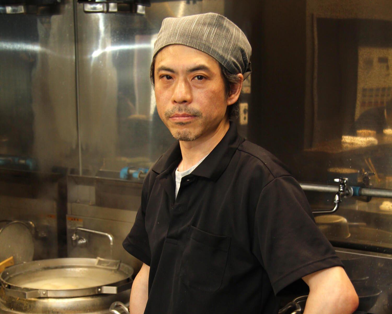 「しっかりとしたチャーシューが自慢です」と瀬賀正さん。