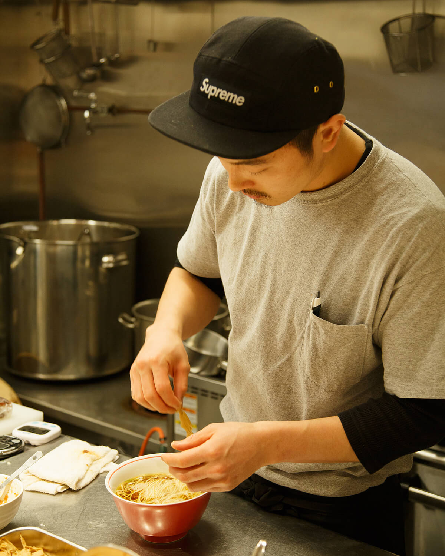 麺尊RAGE(めんそん れいじ)店主の廣田圭亮さん