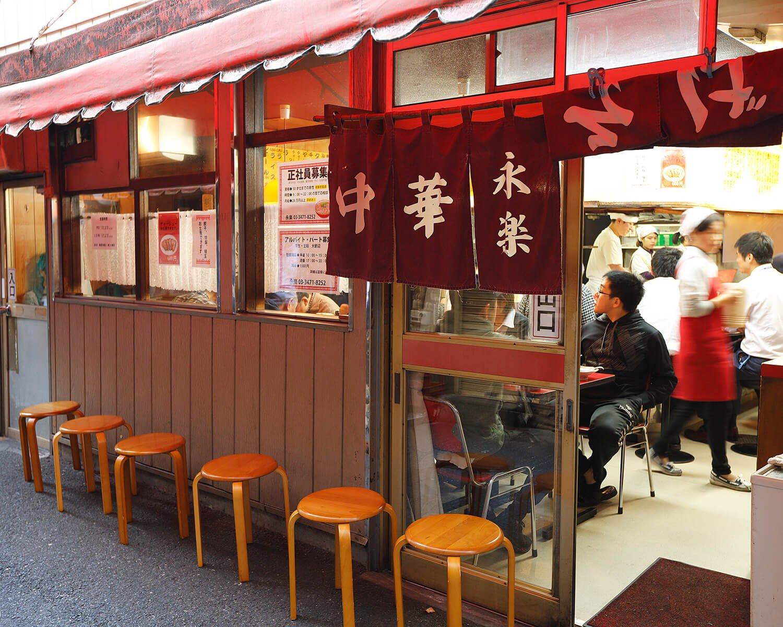 開店当初から東小路飲食店街に店を構える。昼時は大体行列が。ラーメン650円やワンタンメン800円も人気。