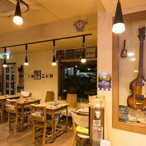 つい長居したくなる下町のビートルズ喫茶『亀戸 Penny Lane Cafe』