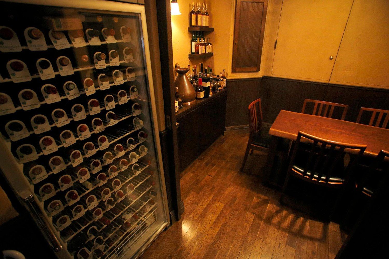 ワイン専用の部屋。