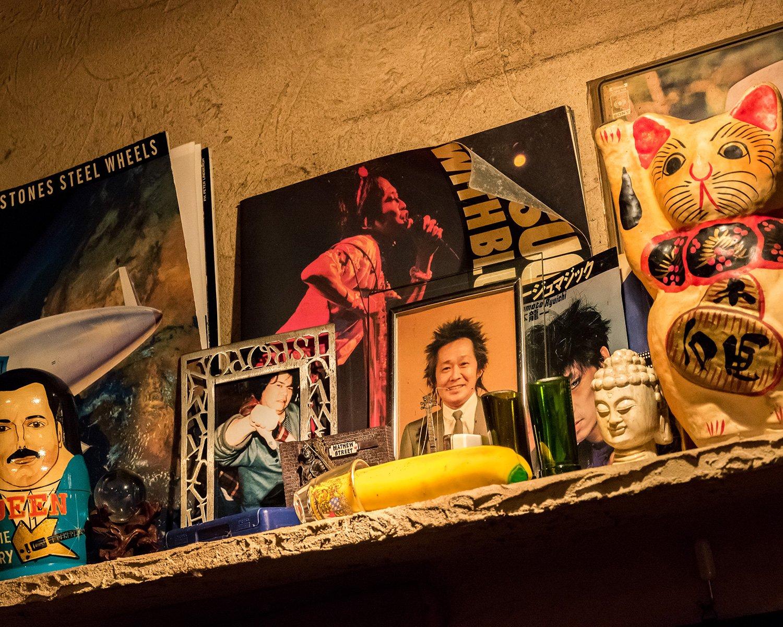 米田さんがビートルズと同じくらい愛してやまないのが忌野清志郎。70年代後半、渋谷の街中で遭遇し、サインをもらったことがあるという。