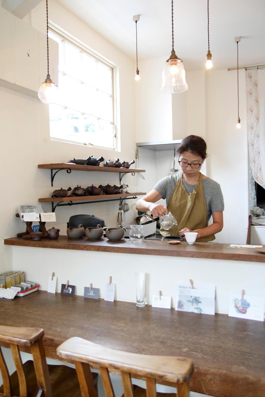 「朝起きたらお茶を飲む派なんです」と、近藤さん。