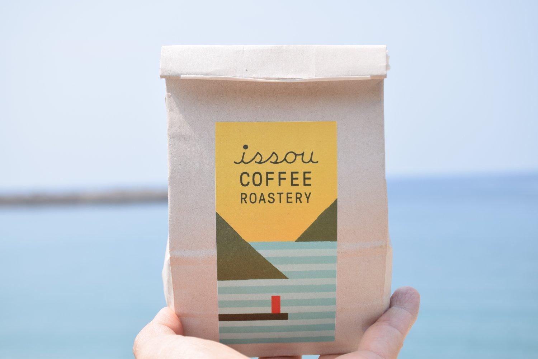 コーヒー豆は180g1200円~。