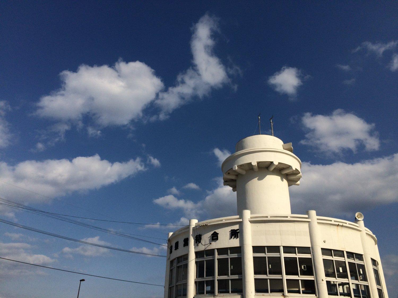 屋久島の海の玄関口、宮之浦港のフェリー待合所にある。