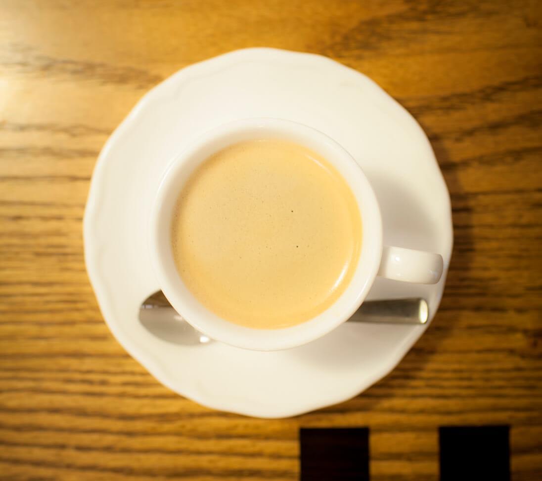 阿佐ケ谷『カフェドゥワゾー』の深煎りブレンドコーヒー540円。