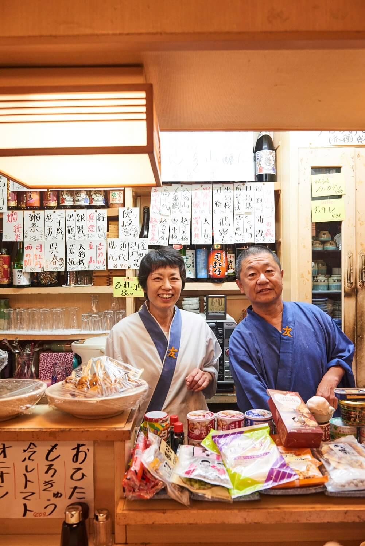 「店はまだ30年」と仲村夫妻。