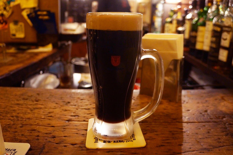 「黒生ビール」700円