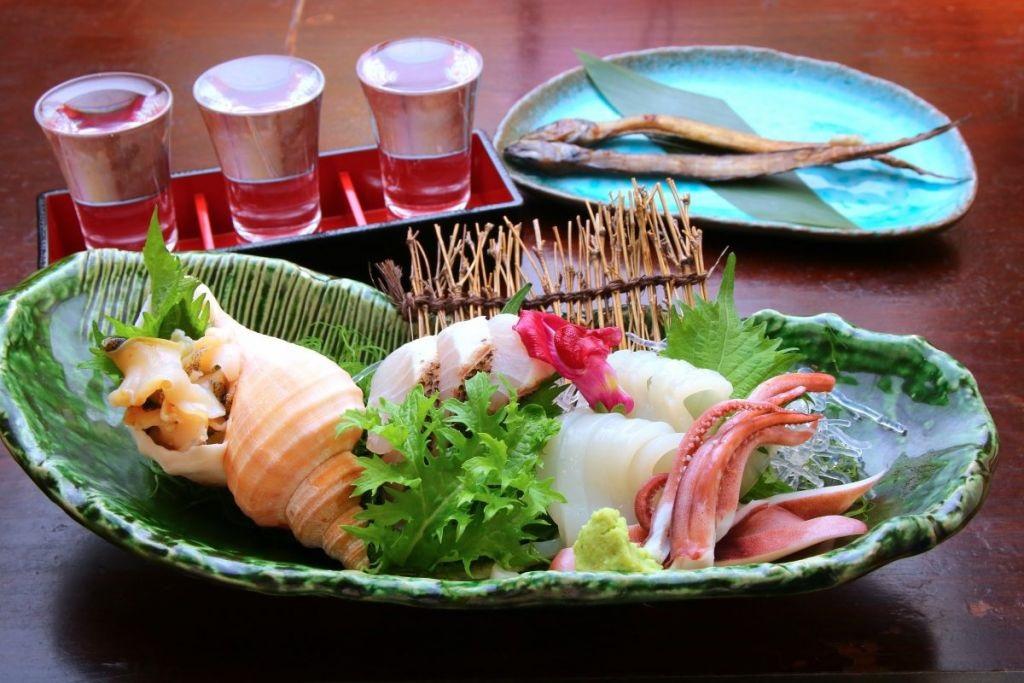 日本海の幸と新潟の酒。これが合わないわけがない。