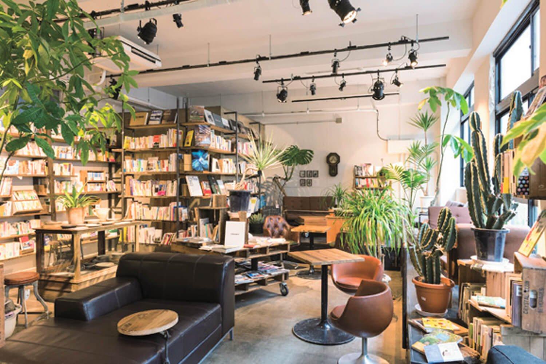 ソファ、スナックの椅子など、席はいろいろ。「本一冊読んでいく方もいますよ」。