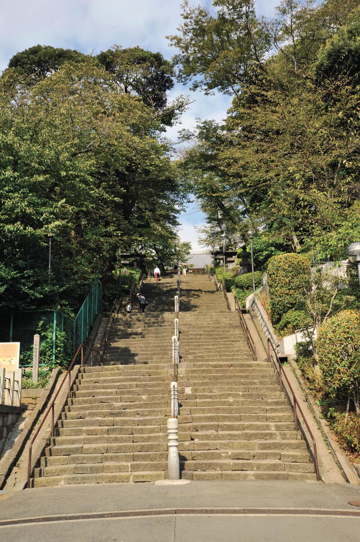 池上本門寺参詣は、加藤清正の寄進により造られた此経難持坂(しぎょうなんじざか)を上って。