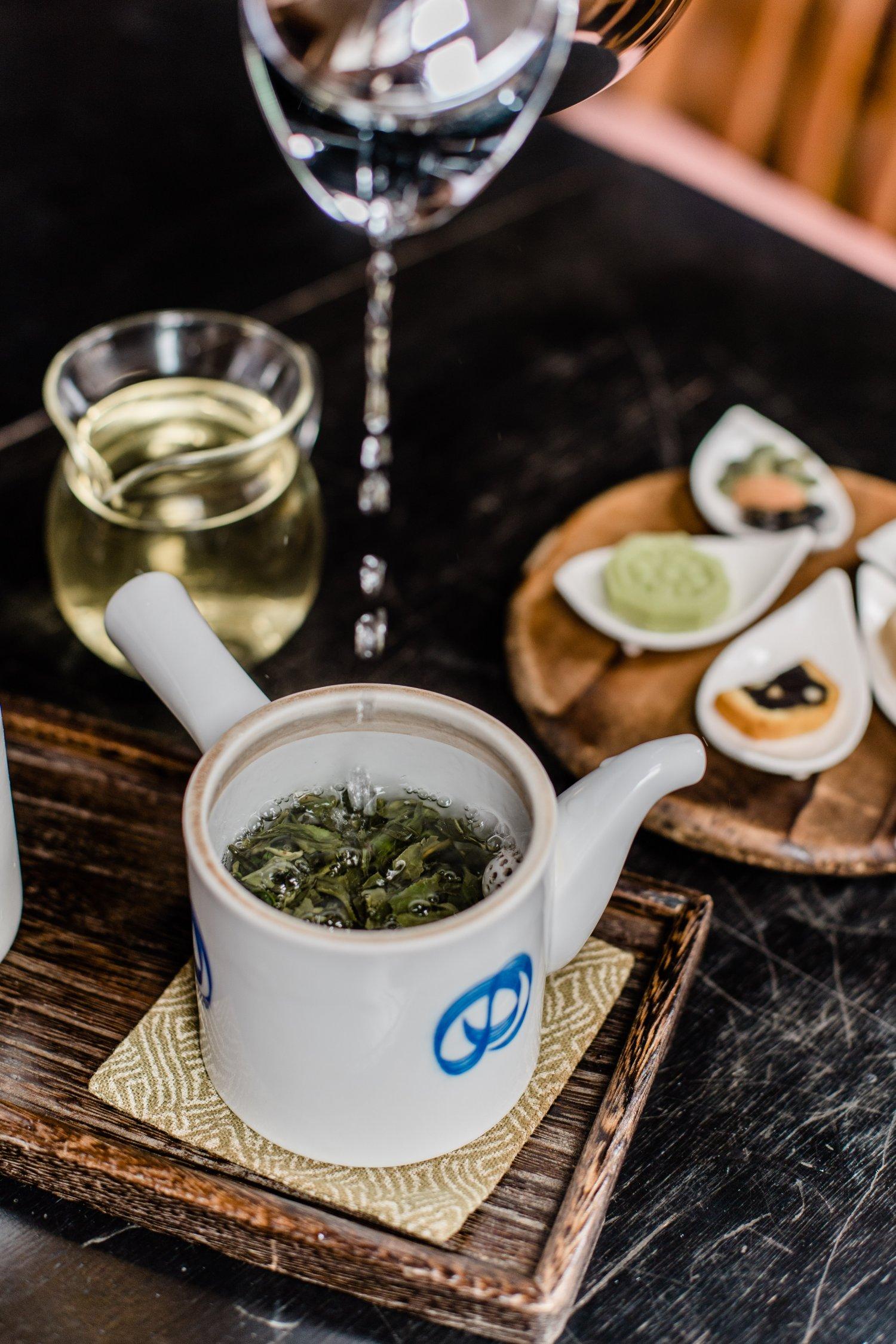 本格的な中国茶を気軽に味わうことができる