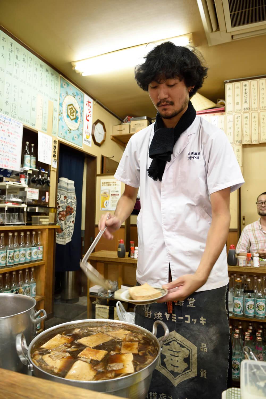 代表と写真の萬田優生さんは『一平』で修業。