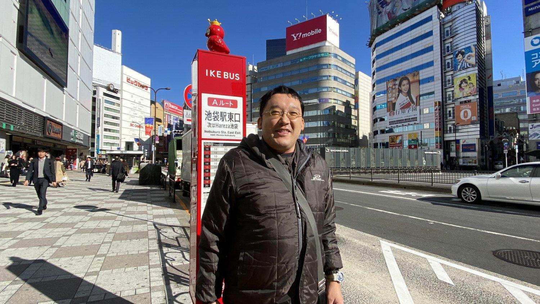 話をうかがった武井さんは東長崎在住(36)。