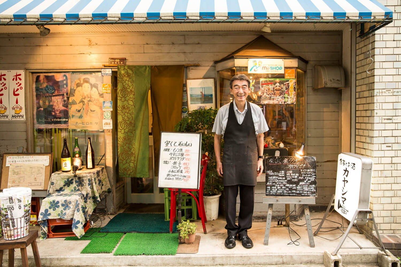 40年以上同じ場所で吉祥寺を見続けてきた店はさすがの風格が漂う。