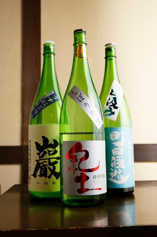 お酒620円(税別)~。