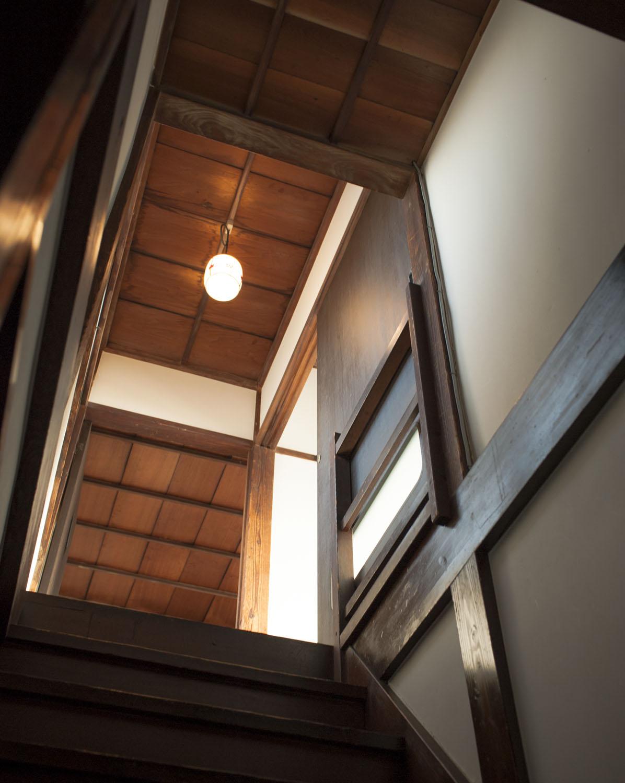 展示やワークショップの際は2階を開放。