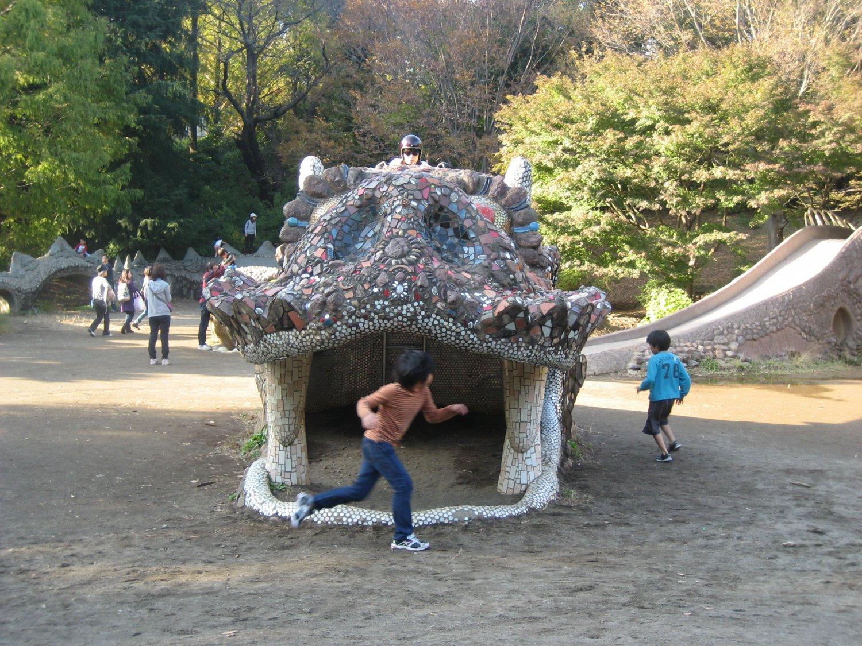昭和記念公園の撮影風景(2011年)