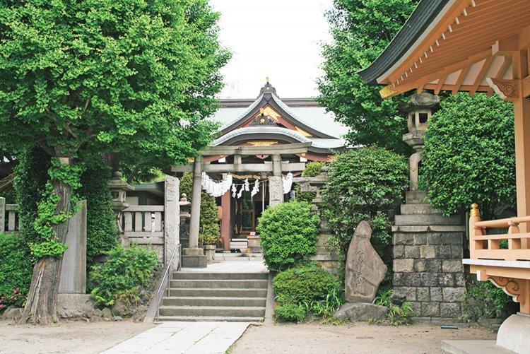 白鬚神社(しらひげじんじゃ)