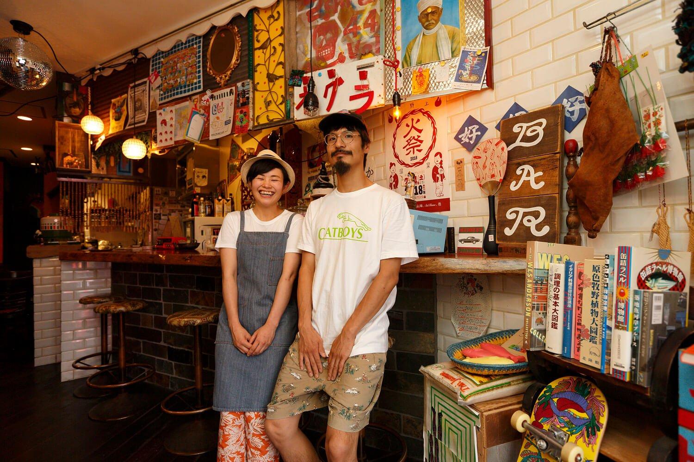 自称・皿洗いの大澤さんとシェフの近藤さん。