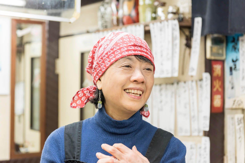 女将の小倉佳子さん。