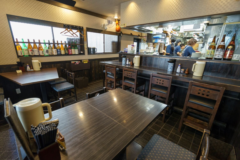 全16席。1999年に十条で開店、10年後に志茂へ移転。