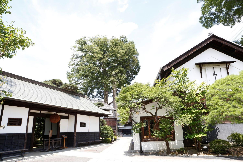 石川酒造_長屋門