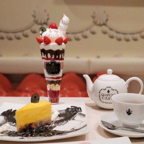 魅惑のアクセサリーの様なスイーツ『Q-pot CAFE.』~黒猫スイーツ散歩 原宿表参道編③~