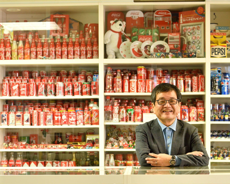 コカ・コーラはファースト缶からアメリカから取り寄せた「スター・ウォーズ」缶も。