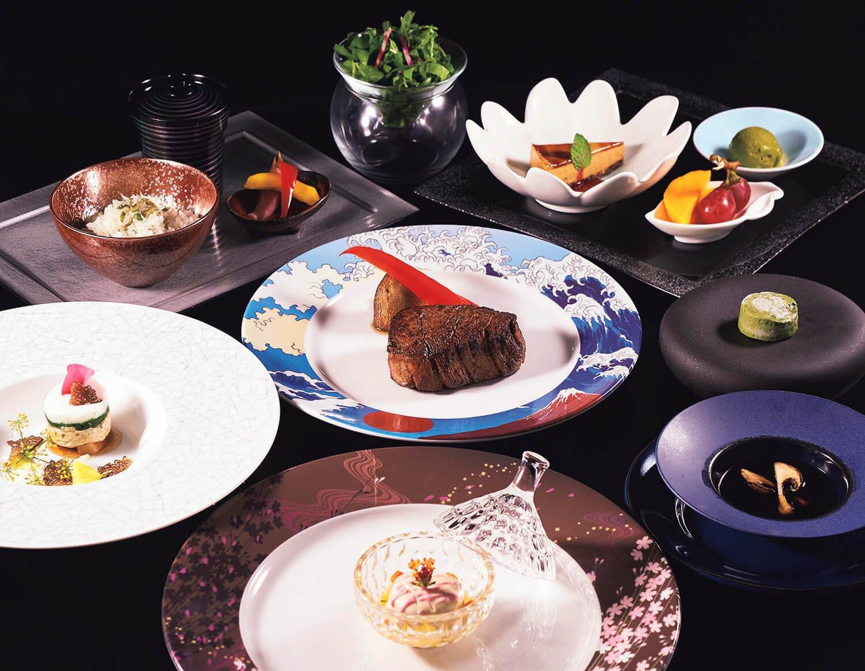 旬の素材を最適な状態で提供。前菜からデザートまで一品たりとも手を抜かない。