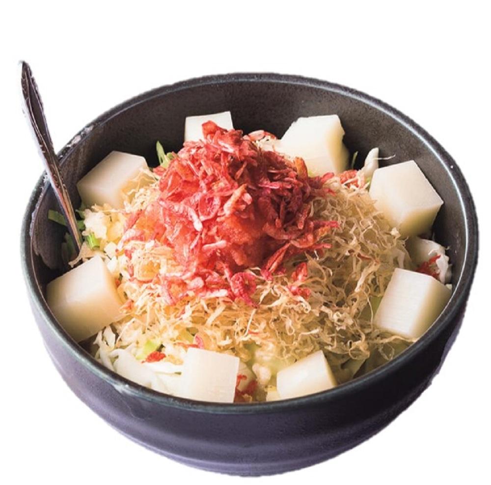 人気不動の明太子もちチーズ1450円(別盛りのチーズ込み)。