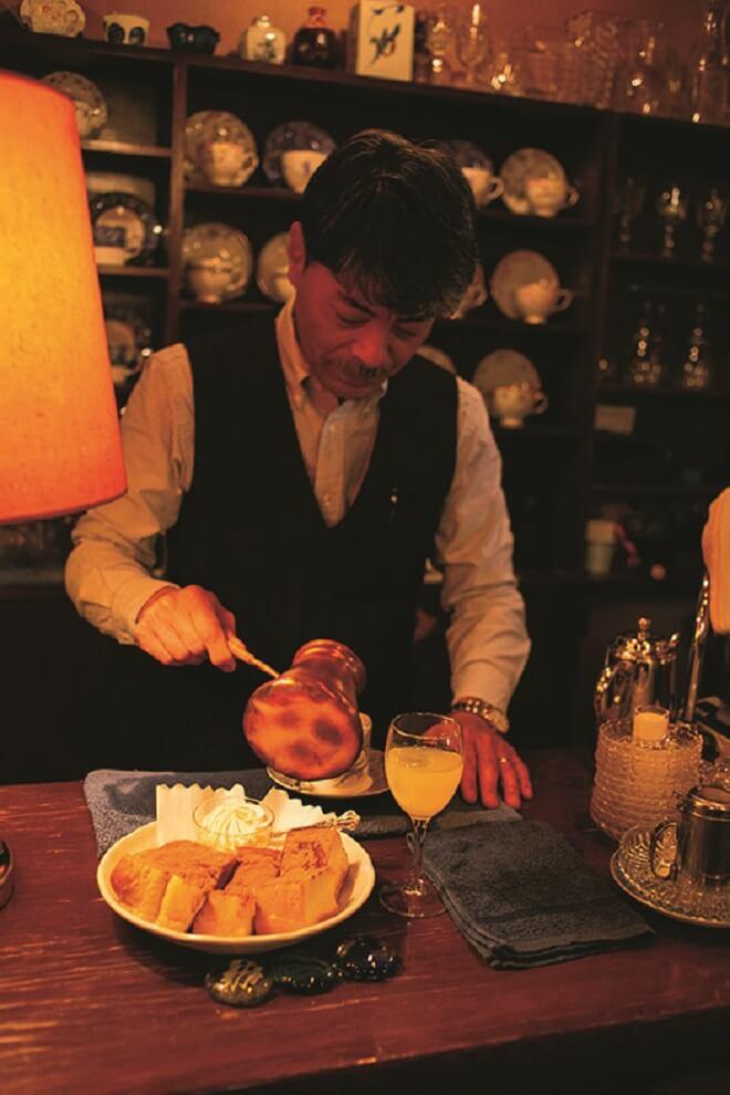 シナモントースト600円も人気だ。