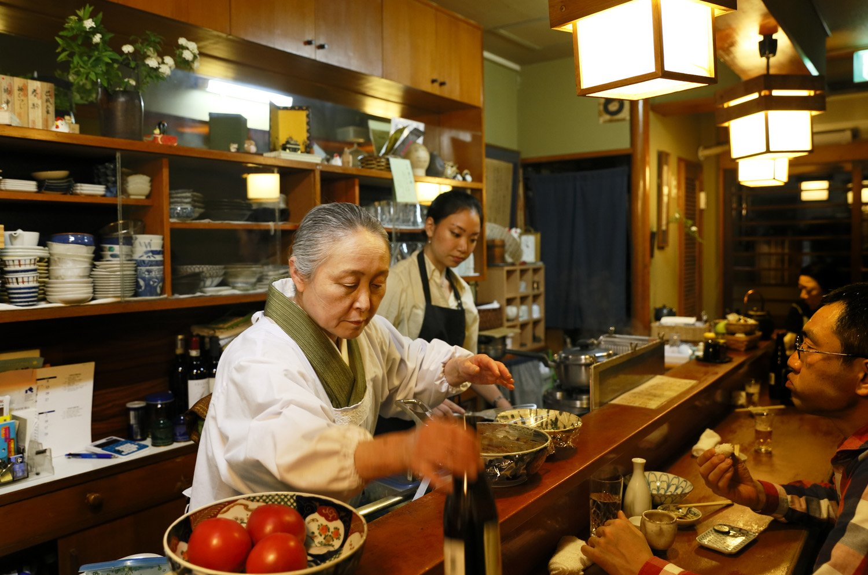 姫田さんが店に立つのは夜の営業時のみ。