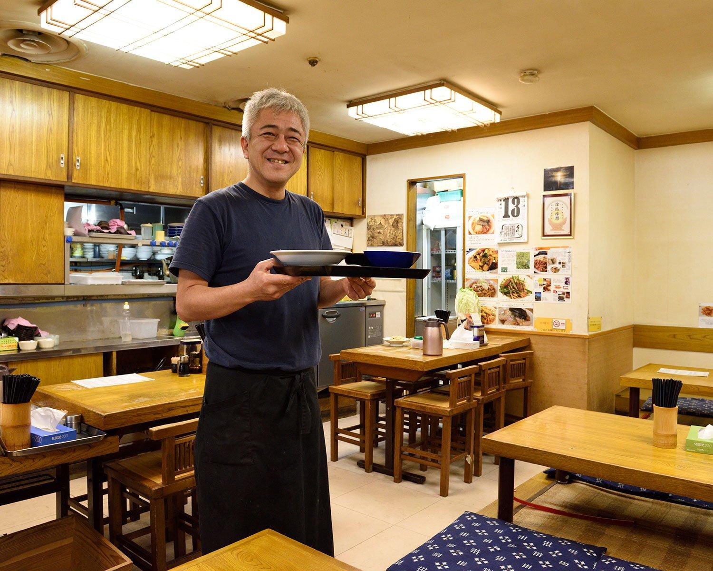 父が中華、母が製麺屋と、店主・河原さんは町中華サラブレッド!