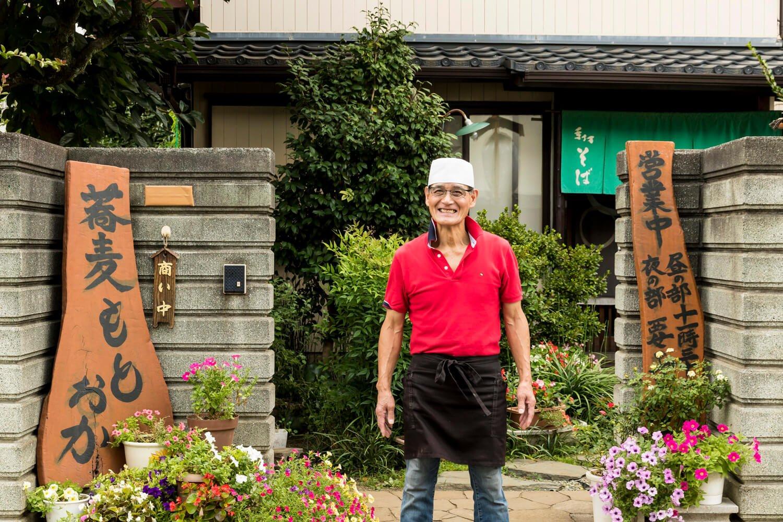 店主の本岡進さんは元キックボクサーだった!