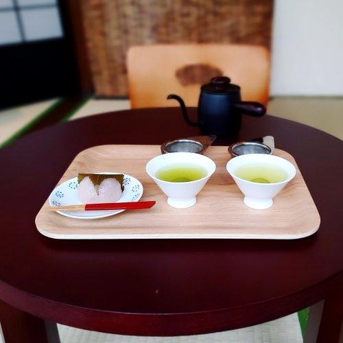 路地裏の日本茶カフェで至福の時間『ShiZen Tea』~黒猫スイーツ散歩 人形町編①~