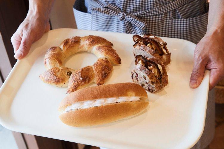 自然酵母のパン グリドン
