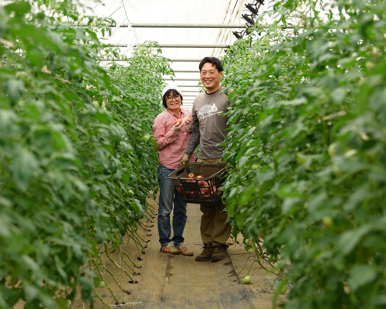 石井一平さんと、シェフの久美子さん。