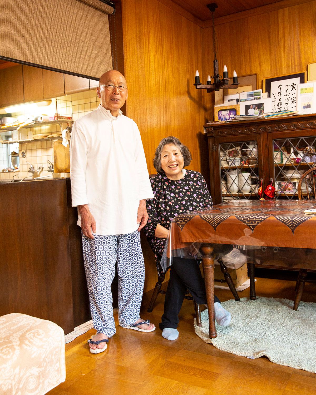 庭の旬味も添える恭子さんと始めて21年。