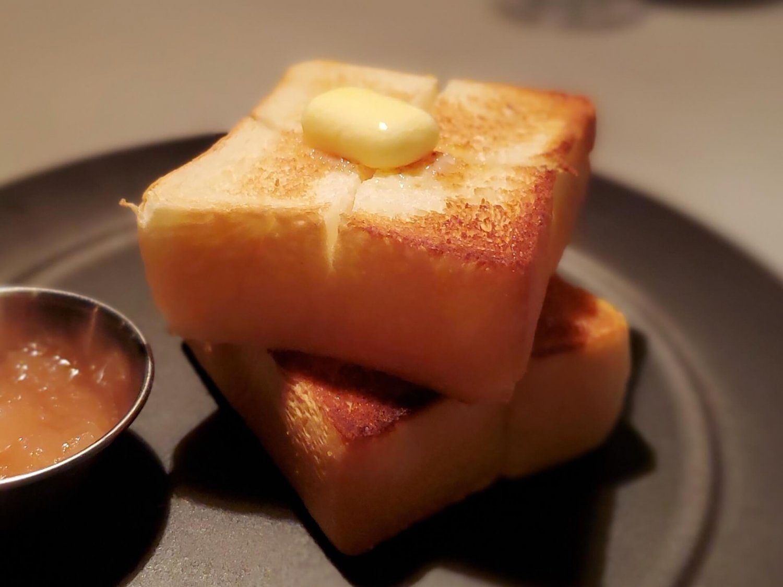 バタートースト500円。