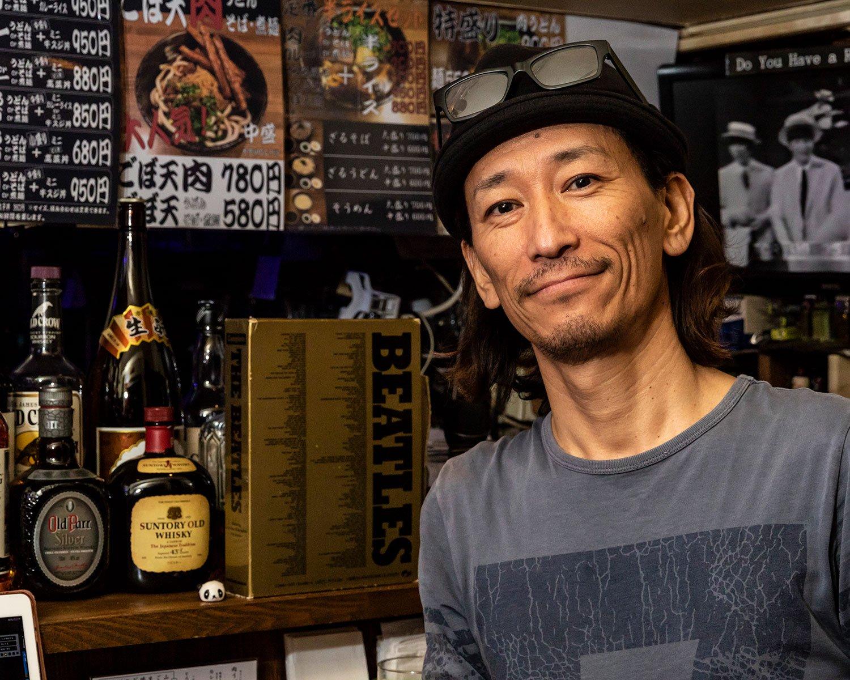 「関東でこのうどんを味わえるのはウチだけじゃない?」と店主。