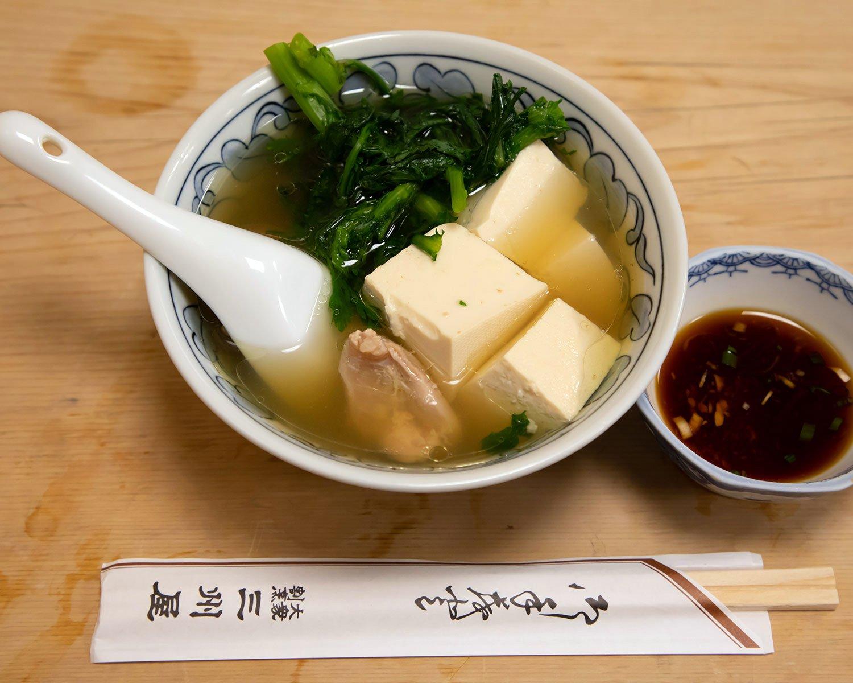 鶏豆腐480円。