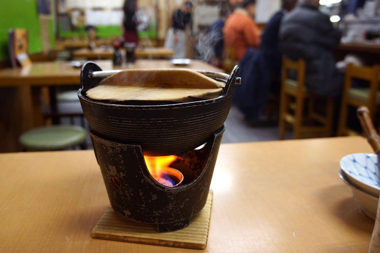冬季限定の永見鍋650円