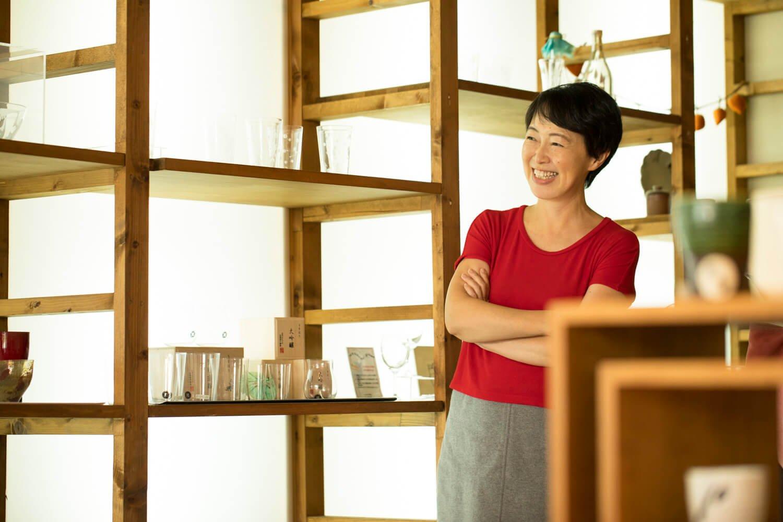 店主の大山祐佳里さん。