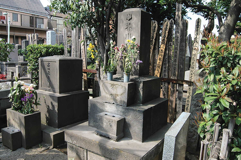芥川 龍之介 の 墓