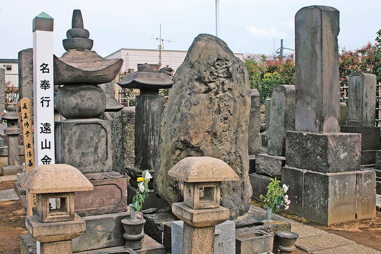 本妙寺 遠山の金さん