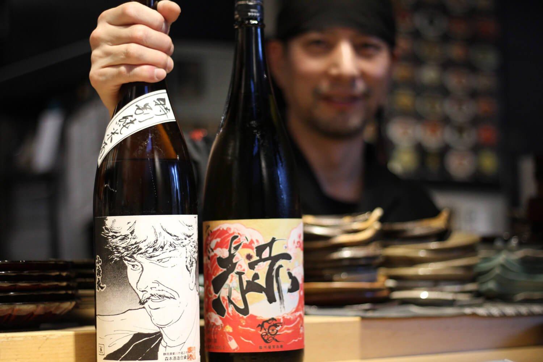 代表の渡邊悠さん。塩辛作りや日本酒とのペアリングへの探求心がすさまじく、勝手に塩辛王子と命名。
