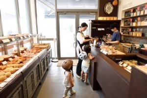 Boulangerie NISHINO 店内