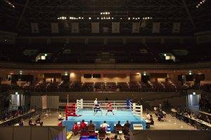 東京オリンピックを歩く ボクシング