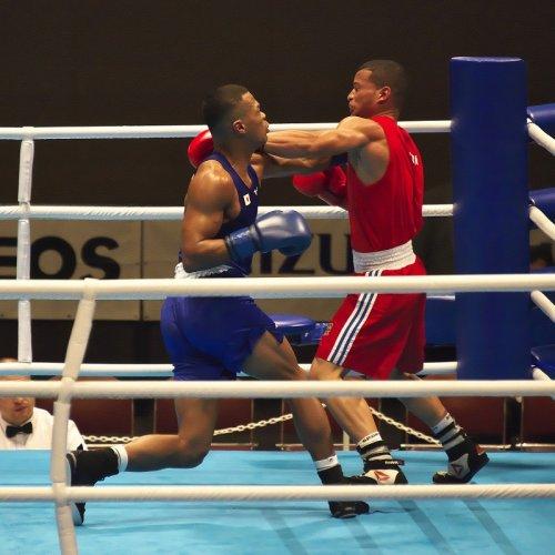 ボクシング/オリンピック会場は相撲の聖地